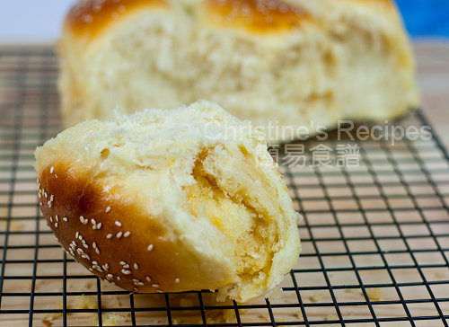 椰蓉麵包 Coconut Custard Buns03