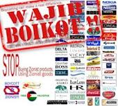 boikot produk ISRAEL!