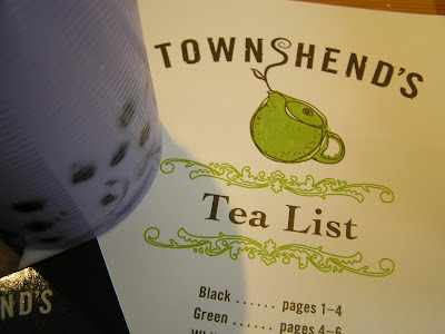 bubble tea - townshends bend oregon