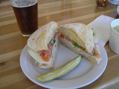 Jackson's Corner turkey sandwich
