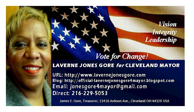 Laverne Jones Gore for Mayor of Cleveland
