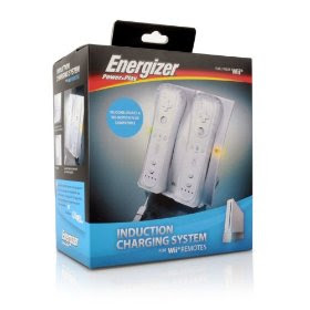 Wii Energizer 2x Induction Charger Flashing Red Light