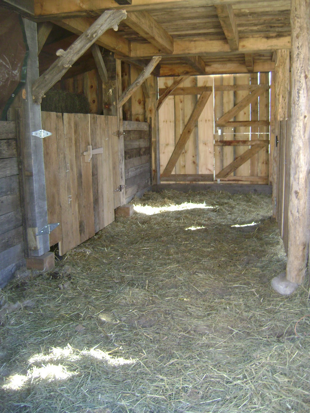 Spinners End Farm Barn Interior