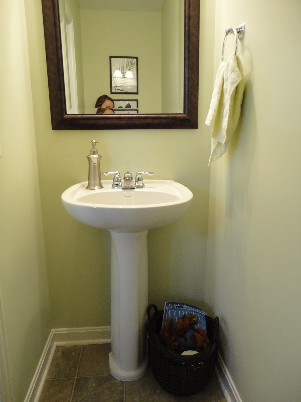 Salutations Half Bathroom Makeover