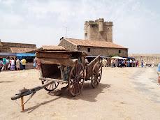 Carros y castillo de San Felices de los Gallegos
