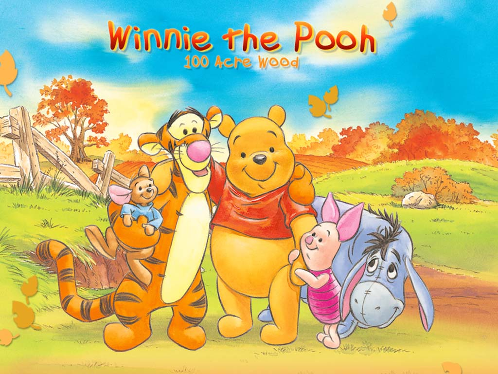 Top cartoon wallpapers winnie the pooh and friends - Winnie the pooh and friends wallpaper ...