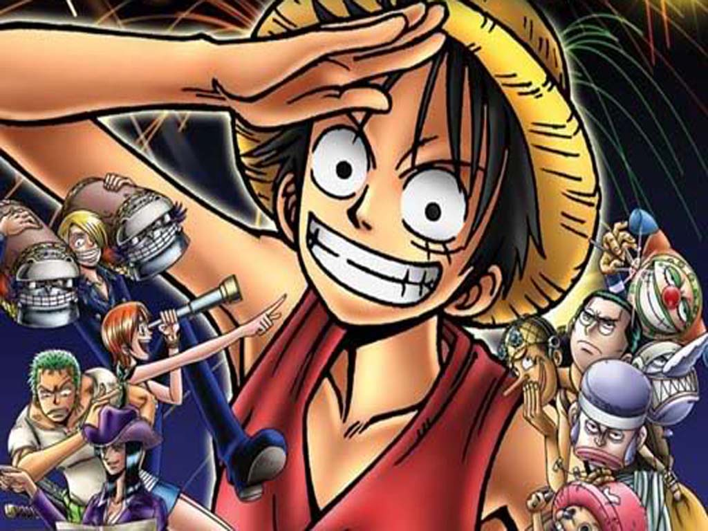Top Cartoon Wallpapers: Monkey D Luffy One Piece Wallpapers - photo #39