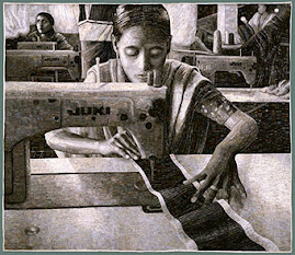 Portrait of a Textile Worker