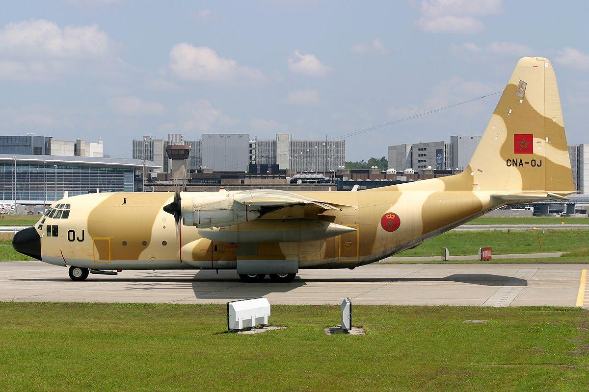 طائرات النقل العاملة بالقوات المسلحة المغربية MG_Lockheed+C-130H+Hercules_Royal+Moroccan+Air+Force_CNA-OJ_29.06.09_ZRH_024