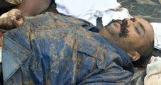 Dead body of antony(son of prabhakaran)