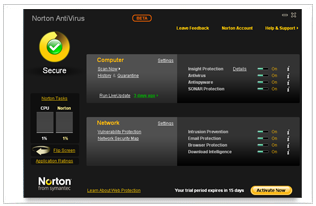 Norton 2010 Beta