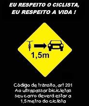Respeite o Ciclista!
