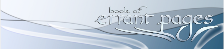 book of errant pages