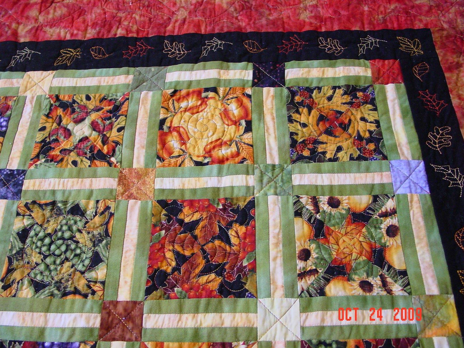 Alderwood Quilts Debbis 4 Patch Kaleidoscope