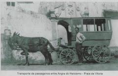 Transporte utilizado entre Angra-Praia