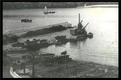 Porto de Pipas em construçao