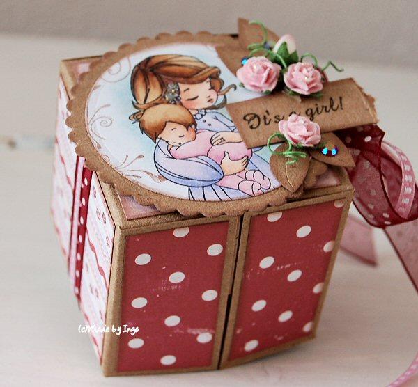 Коробка для подарка своими руками фото