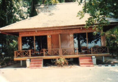 Pulau Putri dengan cottage nyaman