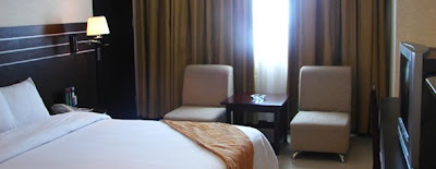 Deluxe room Grand Antares Hotel Medan