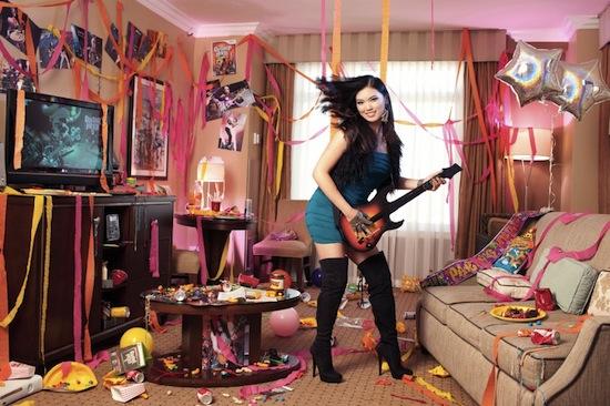 Sexy guitar hero