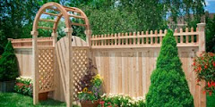 White Cedar Wood Fencing