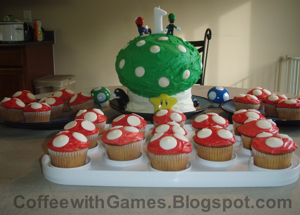 Coffee With Games Our Sons Nintendo Themed Birthday