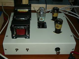 My Tube DIY BLOG: Zenit U415 DHT Preamplifier