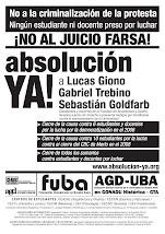 Basta de persecución a los docentes y estudiantes de la FADU por defender la Universidad pública