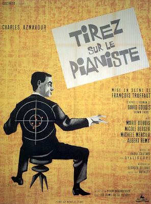 Afiche de Disparen contra el pianista