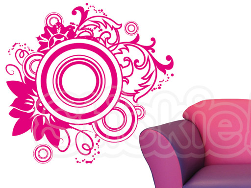 Stickie Adhesivos Decorativos Vinilo Natura Flores