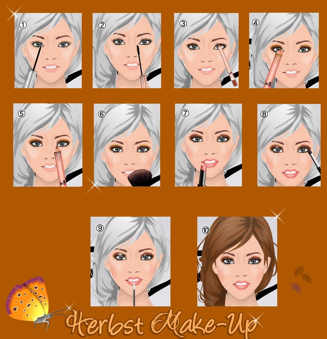 SD Heart: Herbst Make Up