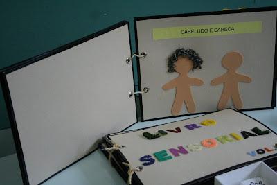 imagem: livro sensorial