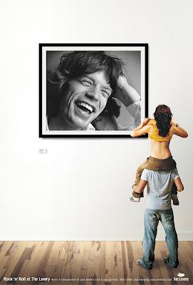 Trevor Lorains and Sir Mick Jagger<br />