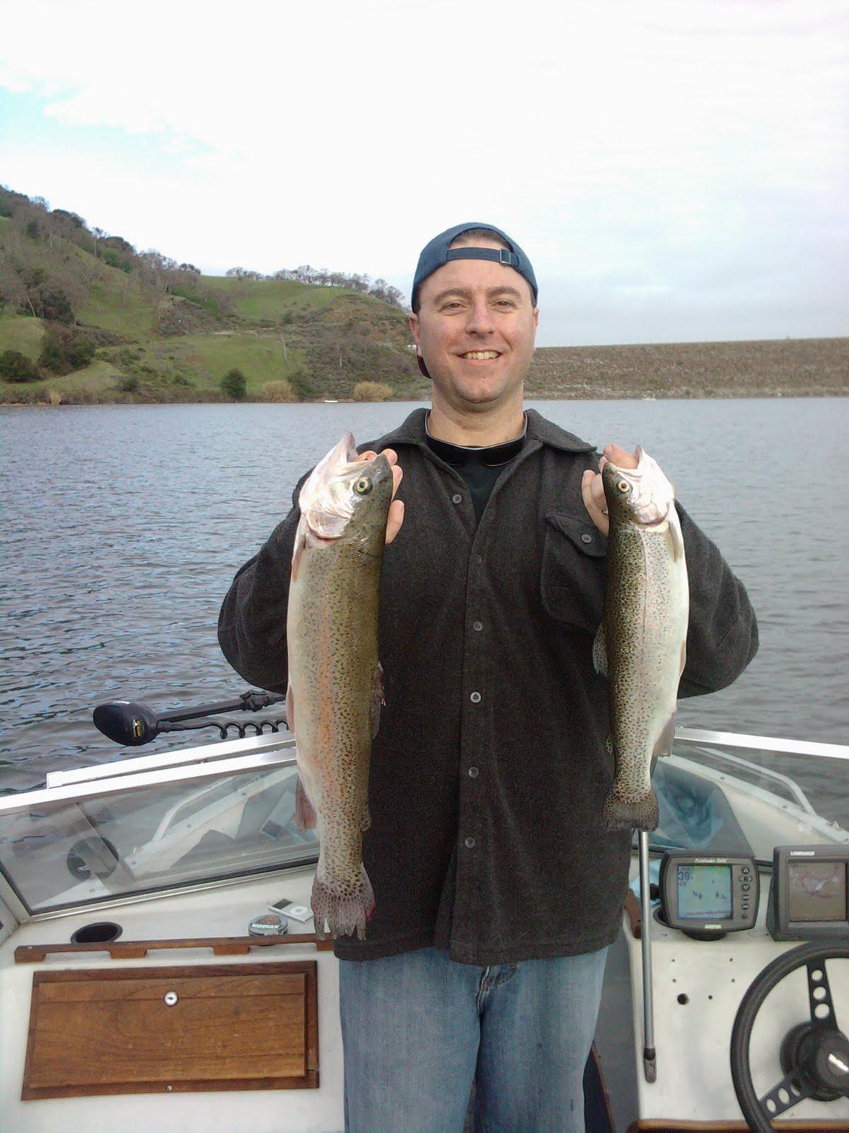 Fishing california del valle reservoir 2009 for Lake del valle fishing report