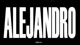 Fonds d'écran Alejandro de Lady GAGA 2010