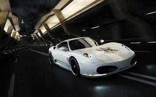 photo Ferrari F 430 calavera Arrière plan