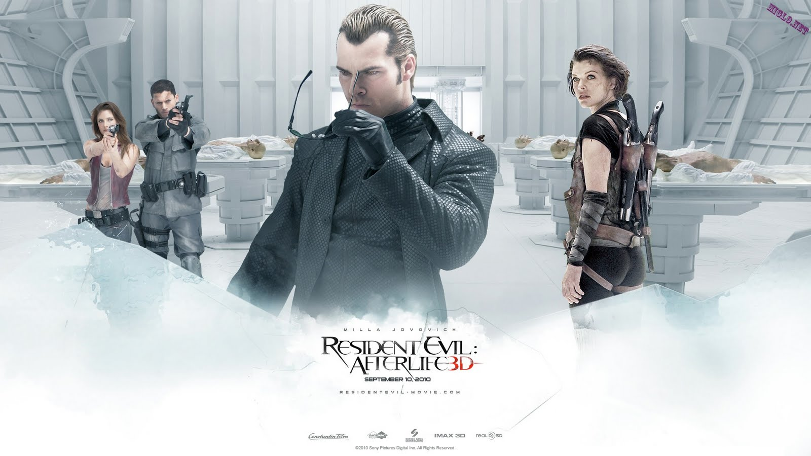Télécharger Shawn Roberts dans Residen Evil Afterlife Wallpaper stock