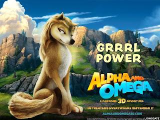 Fonds d'écran du film Alpha & Omega - 3D