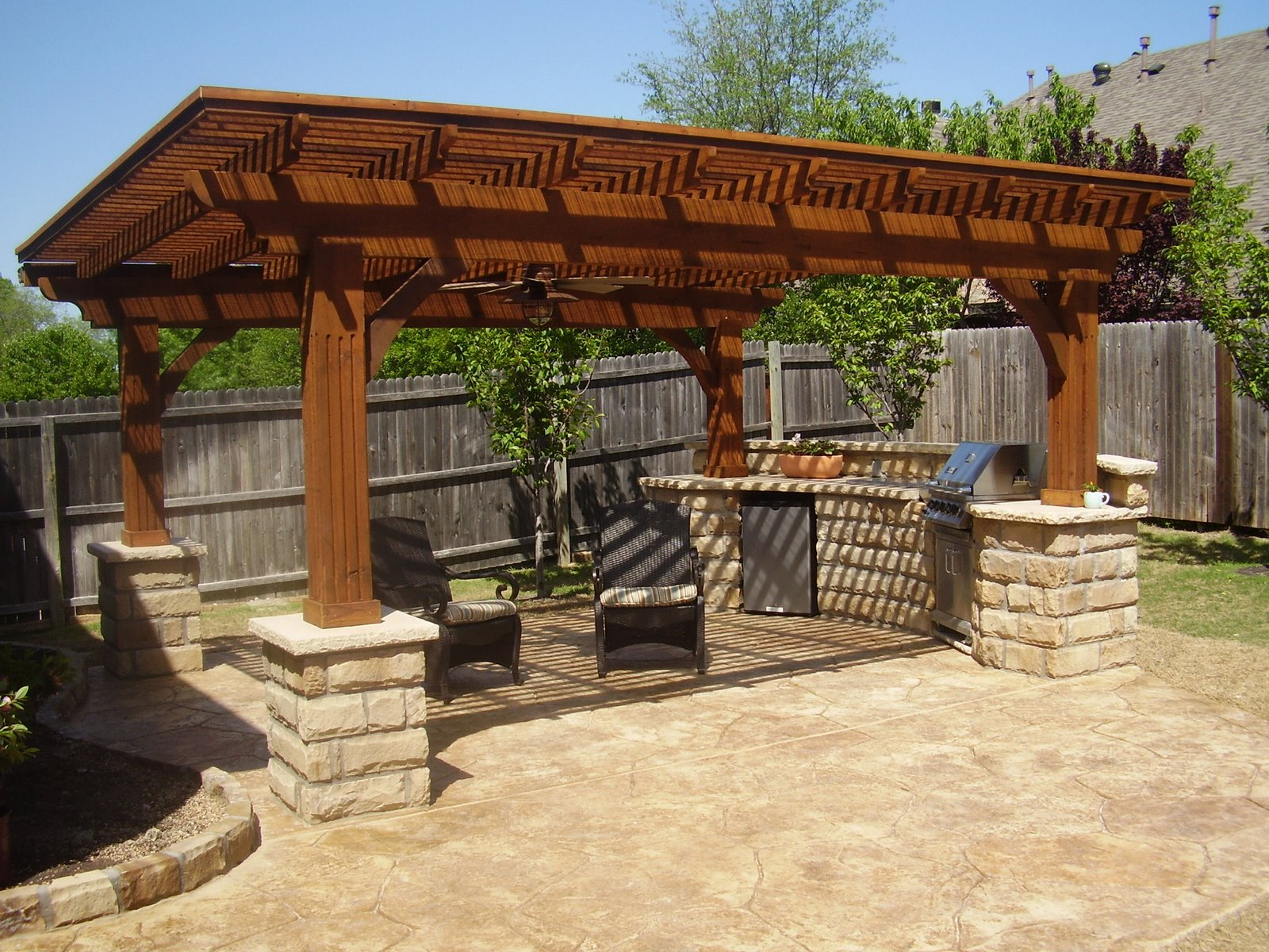 Outdoor Patio Kitchen Design Ideas