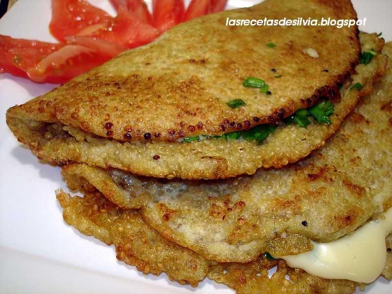 Las recetas de silvia recetas sin colesterol tortilla for Cocinar 1 taza de quinoa
