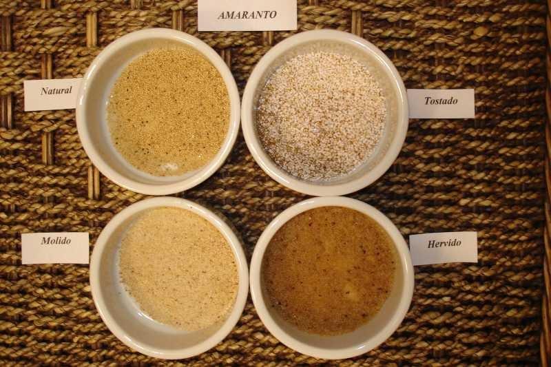 las recetas de silvia como tostar semillas de amaranto