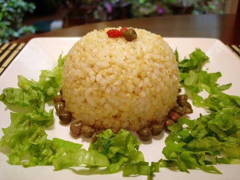 Las recetas de silvia como presentar el arroz o una for Como se cocina el arroz