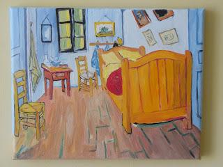 Autentici falsi d 39 autore vincent van gogh la camera da letto dell 39 artista - La camera da letto van gogh ...