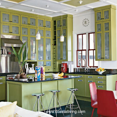 Damask and design a good paint job for Is green a good color for a kitchen