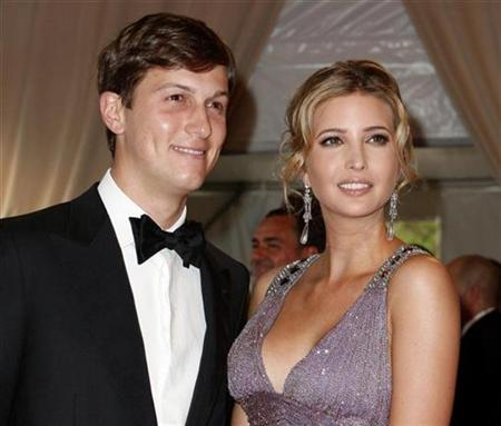 ivanka trump husband jared kushner. with husband Jared Kushner