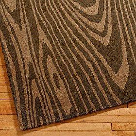 Wood Grain Rug.