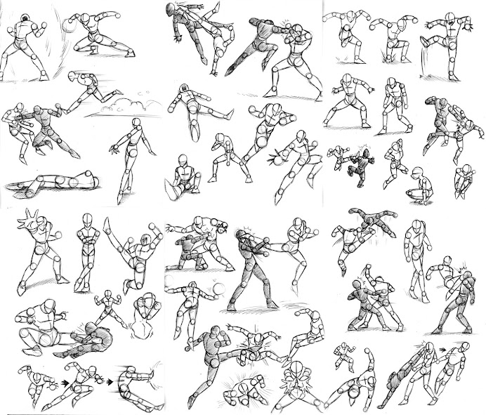 Action Poses