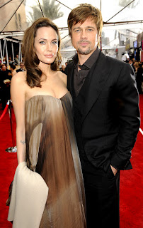 angie+and+brad SAG Awards 2008 Red Carpet Recap
