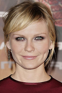 KirstenDunst How To Style Your Bangs To The Side