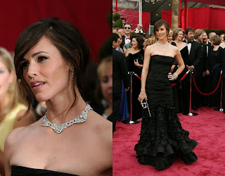 JenniferGarner Oscars 2008 Red Carpet Recap